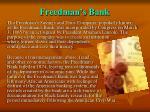 freedman s bank
