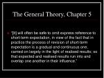 the general theory chapter 52