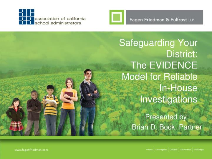 safeguarding your district the evidence model for reliable in house investigations n.