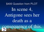 400 question from plot