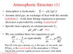 atmospheric structure 1