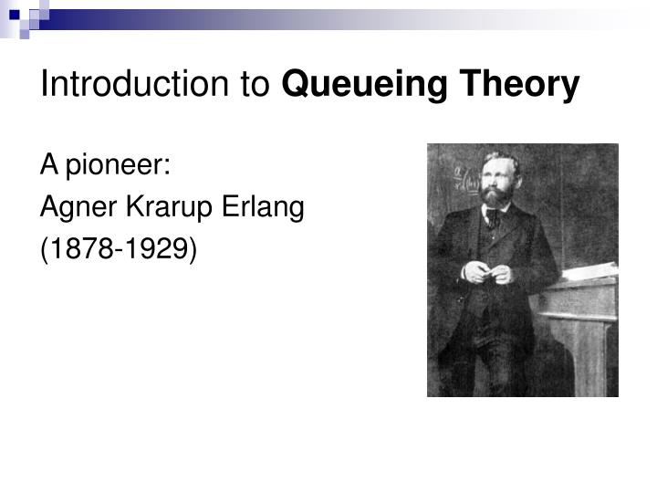 introduction to queueing theory n.