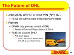 the future of dhl