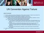 un convention against torture1