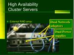 high availability cluster servers3