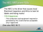 the nec nrtls and febs1