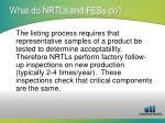 what do nrtls and febs do3