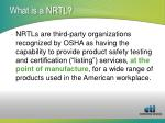 what is a nrtl