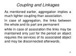 coupling and linkages