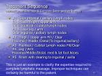 treatment sequence manual lymph drainage complete decongestive therapy