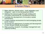 6 action pillars