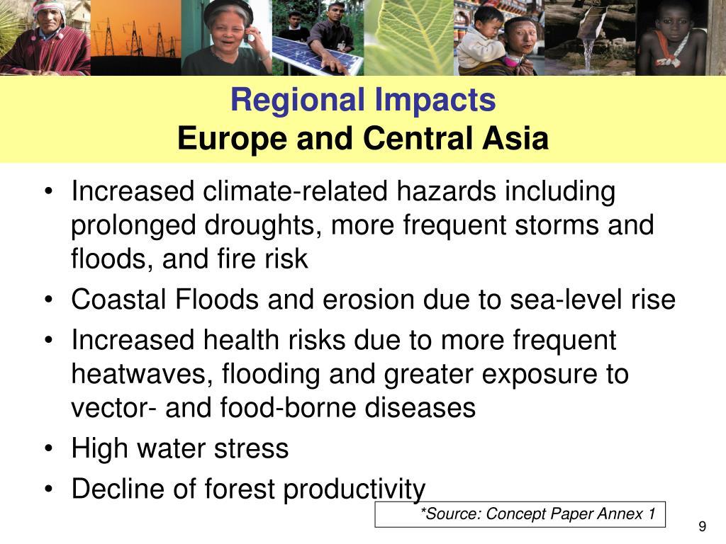 Regional Impacts