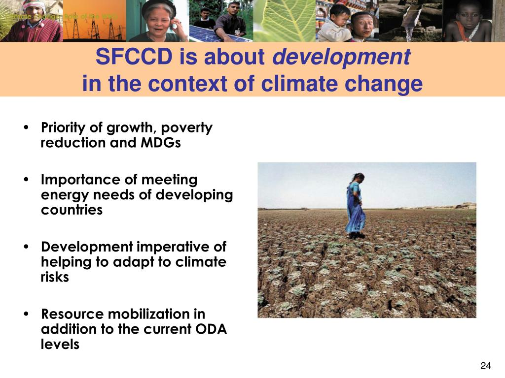 Climate change: Role of the WBG