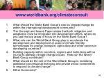 www worldbank org climateconsult