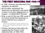 the first indochina war 1946 1954
