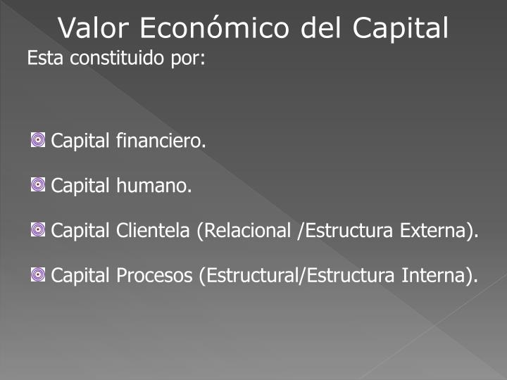 Valor Económico del Capital