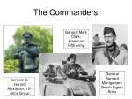 the commanders
