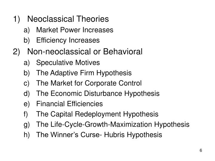 Neoclassical Theories