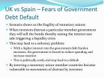 uk vs spain fears of government debt default2