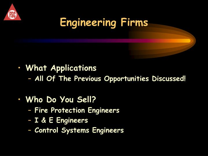Engineering Firms