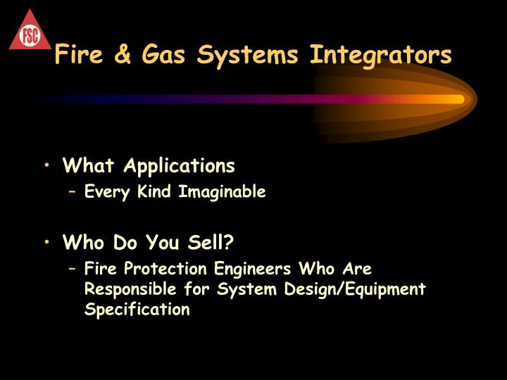 Fire & Gas Systems Integrators