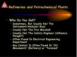 refineries and petrochemical plants1