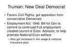 truman new deal democrat
