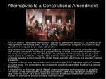 alternatives to a constitutional amendment