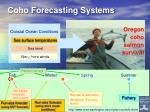 coho forecasting systems