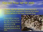 klamath river fish kill 2002