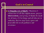 god is in control10