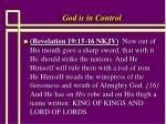 god is in control4