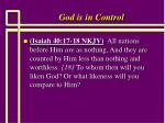 god is in control6