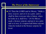 the power of the intercessor21