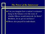 the power of the intercessor29