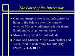 the power of the intercessor30