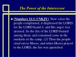 the power of the intercessor8