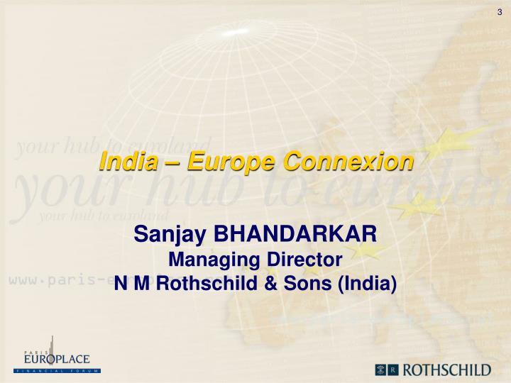 India europe connexion