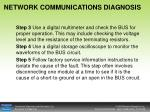 network communications diagnosis2