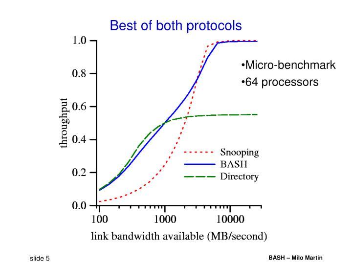 Best of both protocols