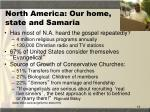 north america our home state and samaria