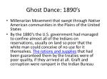 ghost dance 1890 s