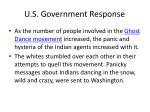 u s government response