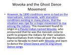 wovoka and the ghost dance movement