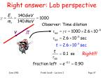 right answer lab perspective