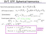 svt stf spherical harmonics