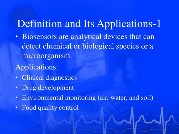 Definition and Its Applications-1
