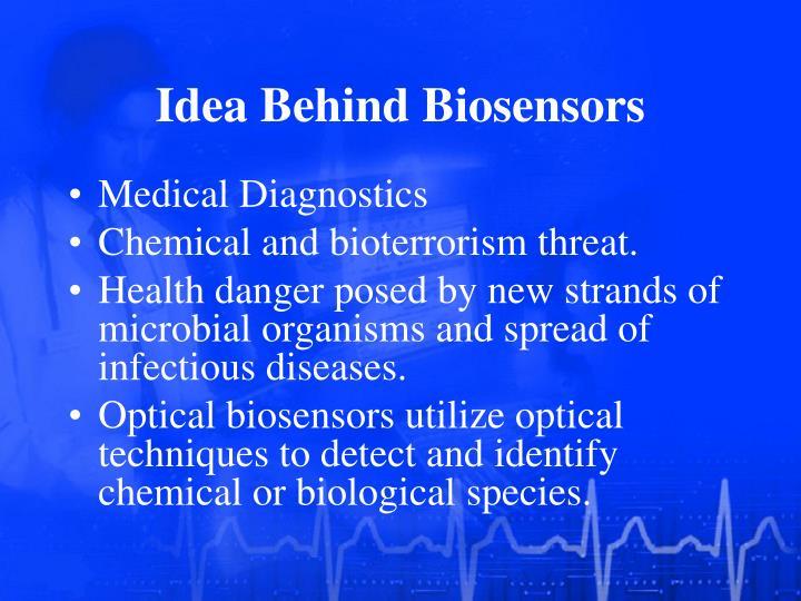 Idea behind biosensors