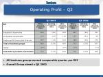 operating profit q3