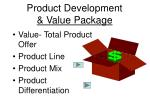 product development value package